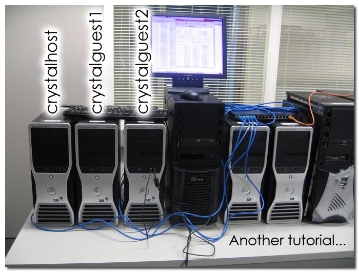 Crystal06 (v 1 0 2) And MPICH-1 2 7p1 In Ubuntu Desktop 8 10